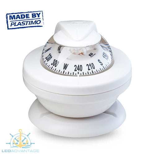 Offshore 55 Power Boat Compass (White)