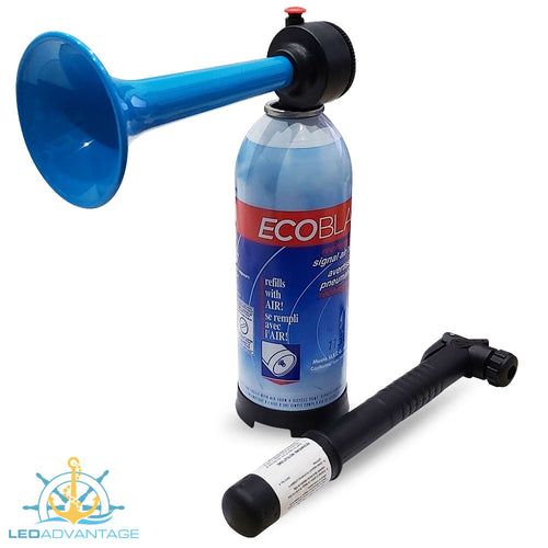 Ecoblast Rechargable Horn & Mini Recharge Pump (Made in Canada)