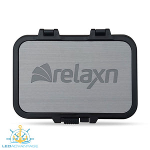 Glove/Helm Box with Dual USB Charger - Black Housing with Seadek Pad