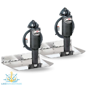 LENCO™ Complete Trim Tab Electro-Polished Standard Mount Kits