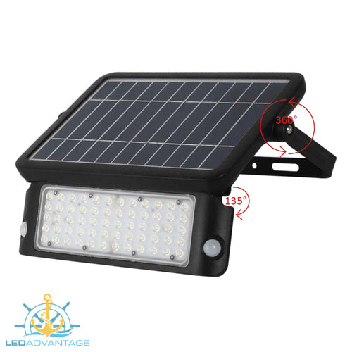 10W Solar Smart Sensor LED Flood Light