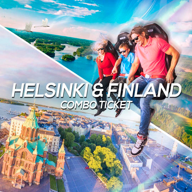 Tour Of Helsinki & Finland Experience, combo ticket