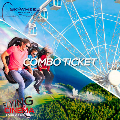 Flying Cinema Experience & Skywheel, combo ticket