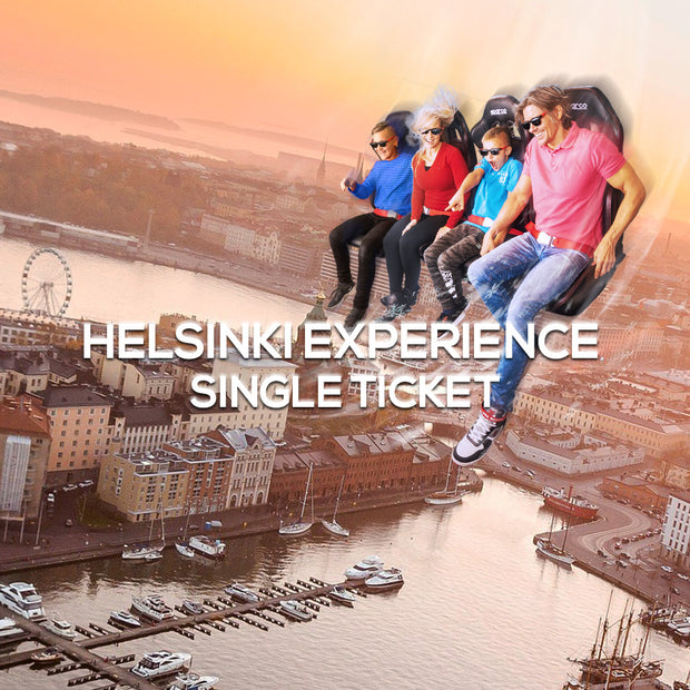Tour of Helsinki Experience, Single Ticket