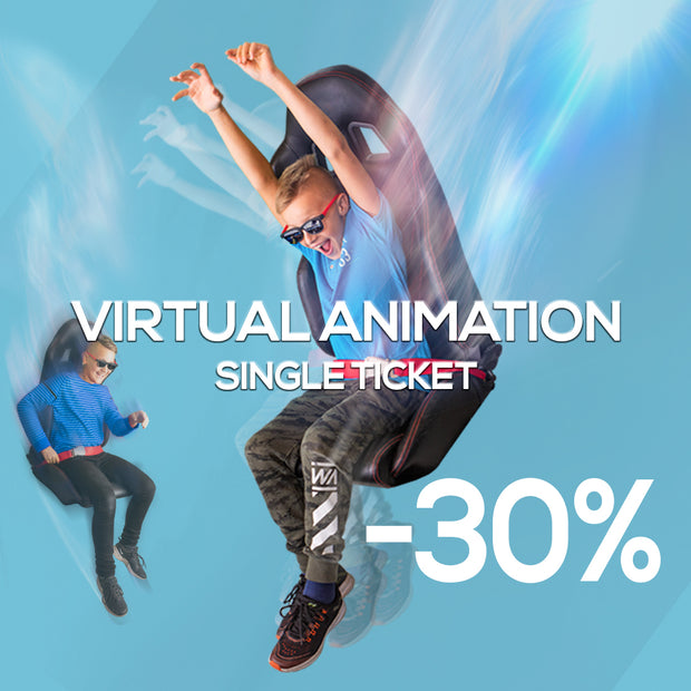 Virtual Animation Experience, single ticket