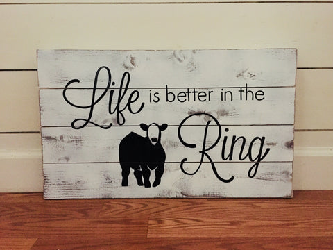 Life is better in the Ring (available in 4 species)