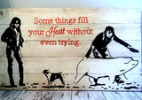 Custom 2 Picture Wood Sign