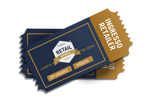 Retail Awards ingresso retailer