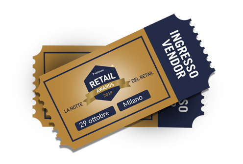 Retail Awards ingresso vendor