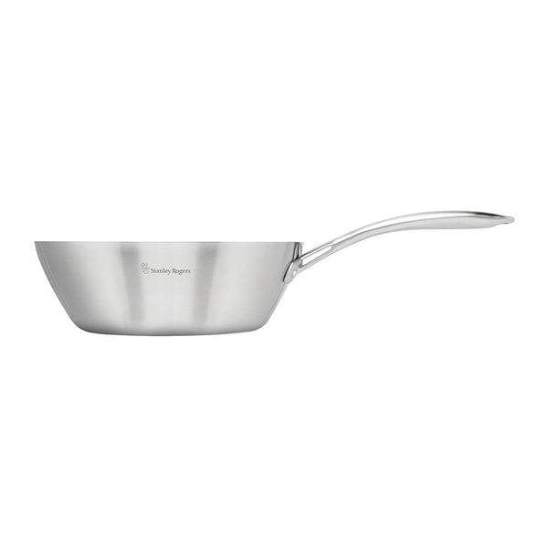 Conical TRI-PLY Wok Pan 28cm
