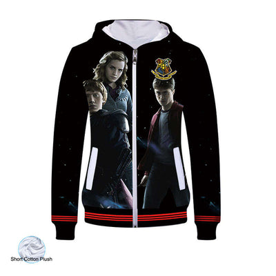 Movie Sweatshirt - Wizardry Unisex Zip Up Hoodie