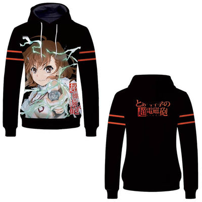 Anime Hoodies -  To Aru Majutsu No Index Unisex Pullover Hoodie