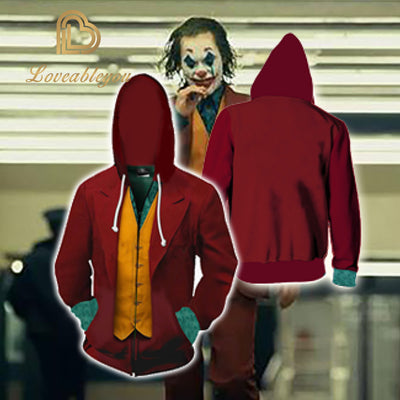 It: Chapter Two - Joker Unisex Zip Up Hoodie