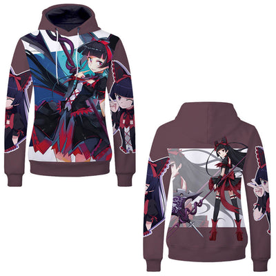 Anime Hoodies - GATE Fantasy Self-Defense Force Unisex Pullover Hoodie