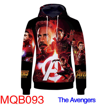The Avengers 4 Hoodies - Superhero Assamble Unisex Pullover Hooded Sweatshirt