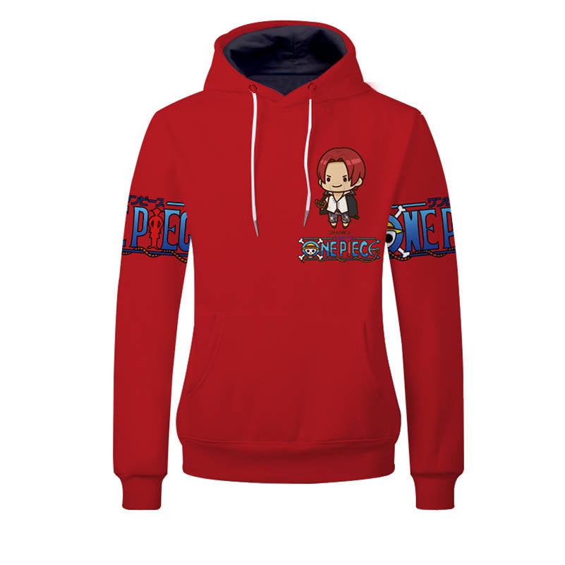 One Piece Hoodies - Shanks Unisex Pullover Hooded Sweatshirt