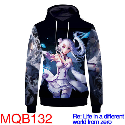Re:Life In A Different World From Zero Hoodies - Unisex Pullover Hoodie