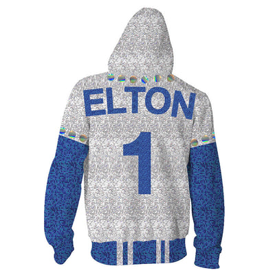 Movie Hoodies - Rocketman Elton John Unisex Pullover Zip Up Hoodie