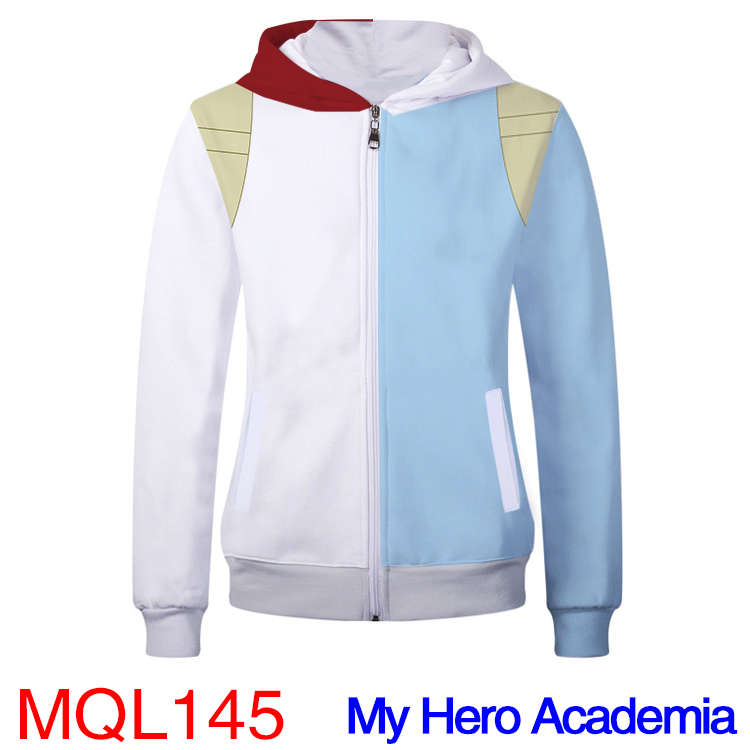 Anime Sweatshirt - My Hero Shool Unisex Zip Up Hoodie