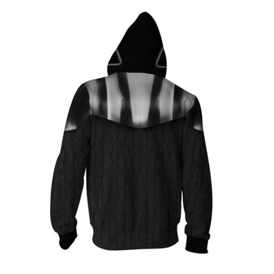 Star Wars Hoodies - Darth Vader Cosplay Zip Up Hoodie