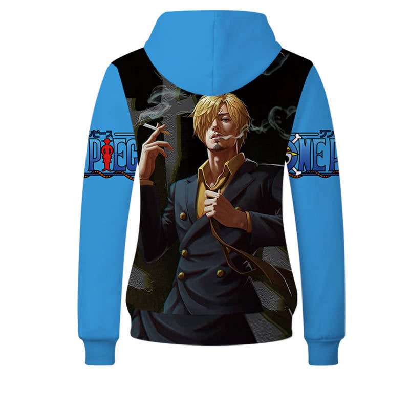 One Piece Hoodies - Sanj Unisex Pullover Hooded Sweatshirt