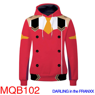 DARLING in the FRANXX Hoodies - Unisex Pullover Hoodie