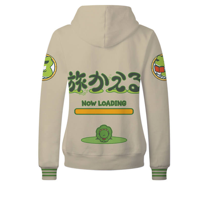 Anime Gaming Hoodies - Travel Frog Unisex Pullover Hoodie