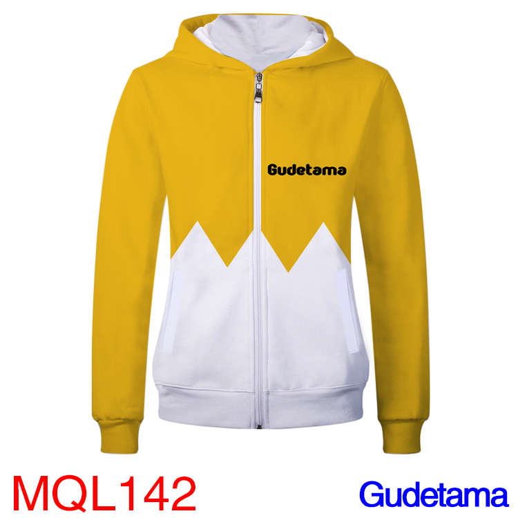 Anime Sweatshirt - Gudetama Unisex Zip Up Hoodie