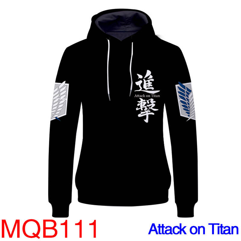 Attack On Titan Hoodies - Unisex Pullover Hoodie