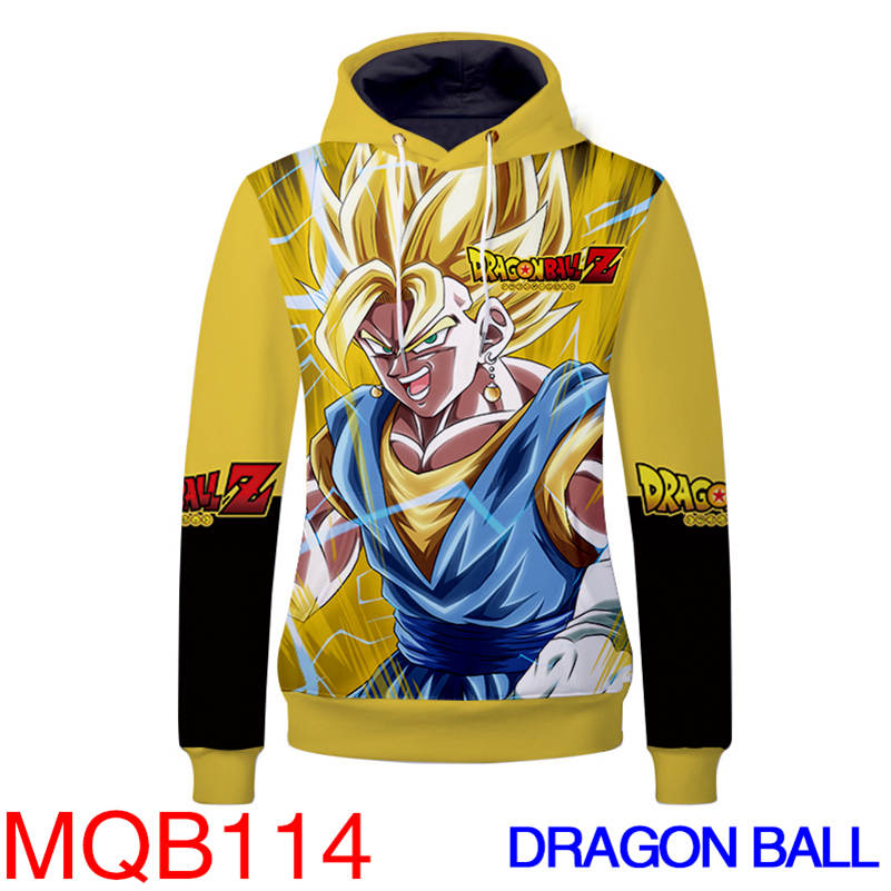 Anime Hoodies - Dragon Ball Z Unisex Pullover Hoodie