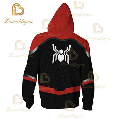 Spider-Man Far From Home - Children and Adult Unisex Zip Up Hoodie