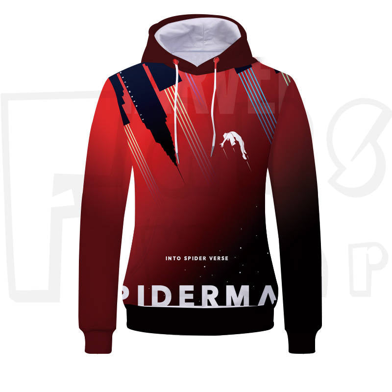 Spiderhero - Into the Spider Verse Unisex Pullover Hoodie