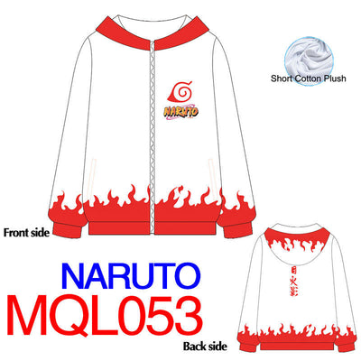 Anime Sweatshirt - Naruto Unisex Zip Up Hoodie