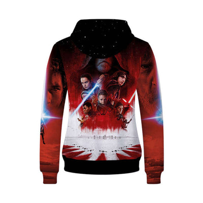 Movie Sweatshirt - Star Wars Unisex Zip Up Hoodie
