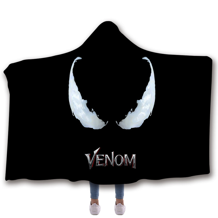 Venomous Hooded Blanket V05