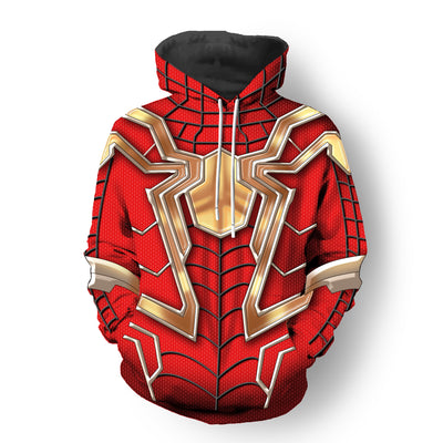 The Avengers: Infinity War - Iron Spider-man Unisex Pullover Hoodie