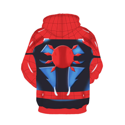 The Spiderman PS 4 - Flash Spider-man Unisex Pullover Hoodie