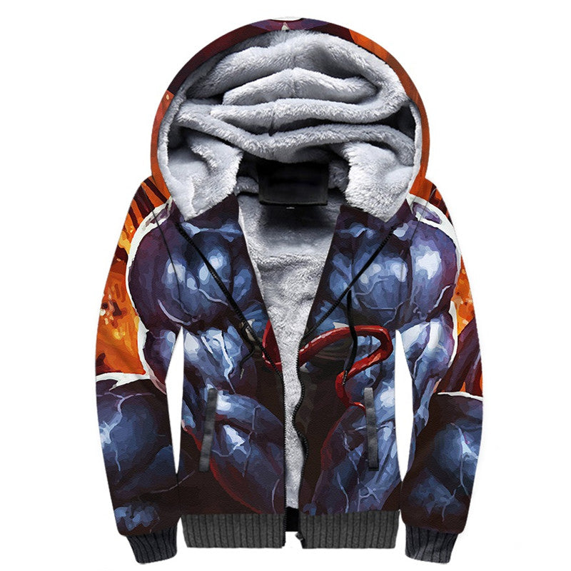 Venom 2018 Unisex Fleece Winter Jacket