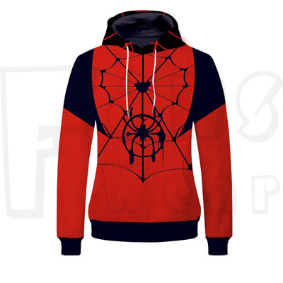 Superhero - Into the Spider Verse Unisex Pullover Hoodie