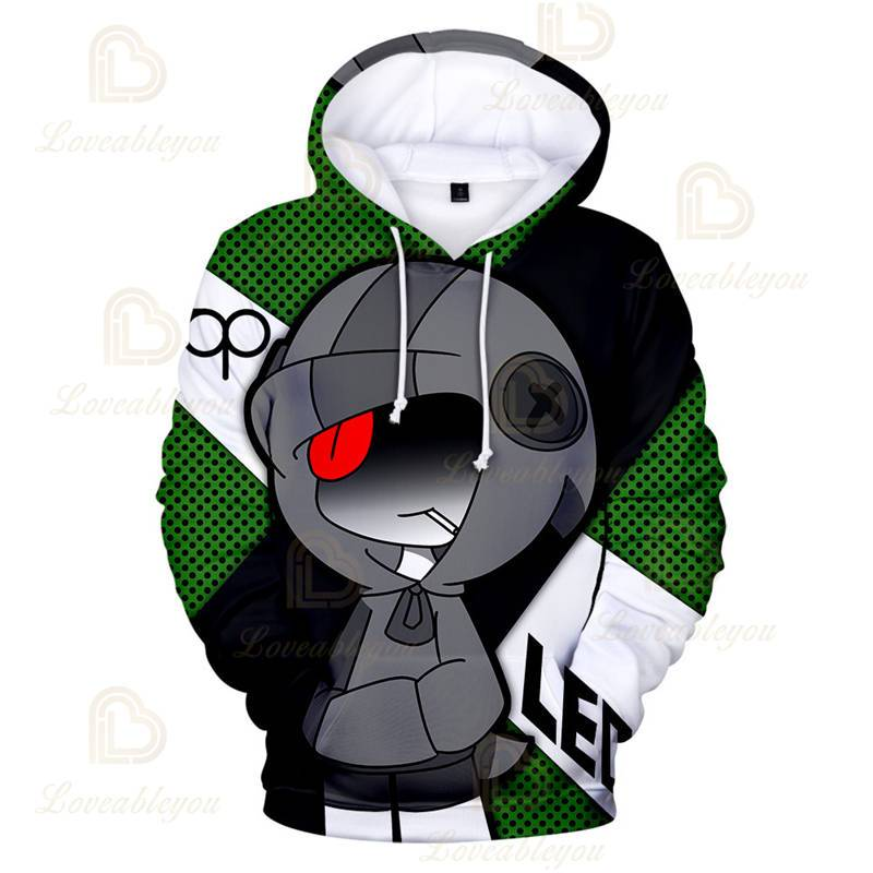 Shooting Game - Crow Leon Hoodie