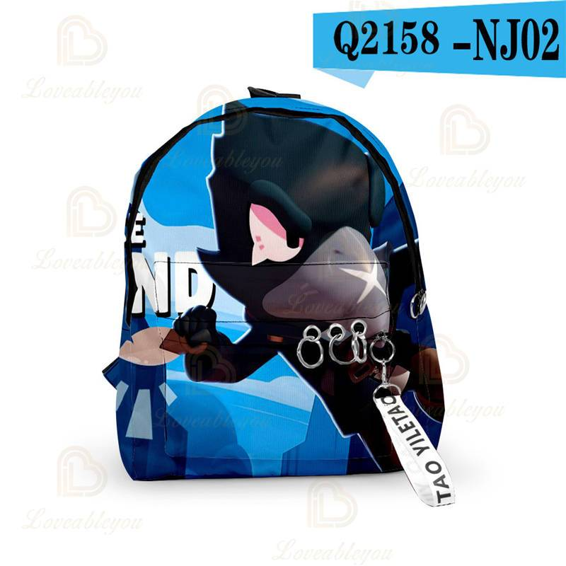 Shooting Game - Backpack Crow Leon Spike Kids School Bag