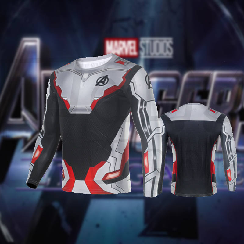 Endgame Quantum Realm Suit - Unisex Zip Up Hoody Sweatshirt