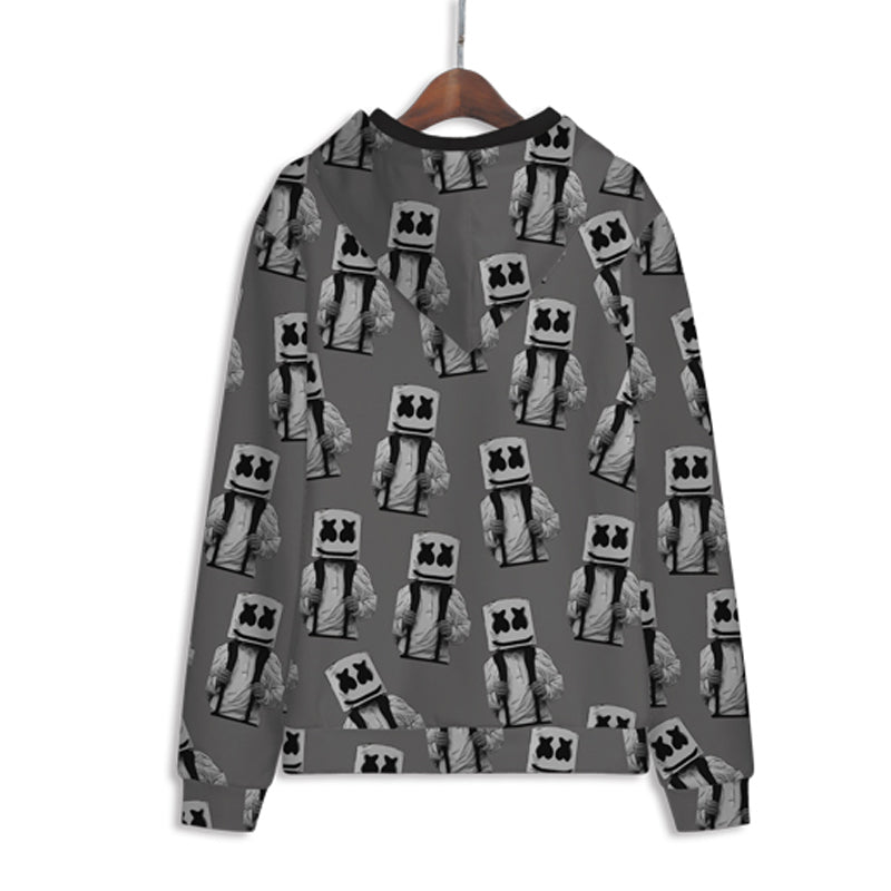 Battle Gaming Snowman Hoodies - Unisex Pullover Hoodie
