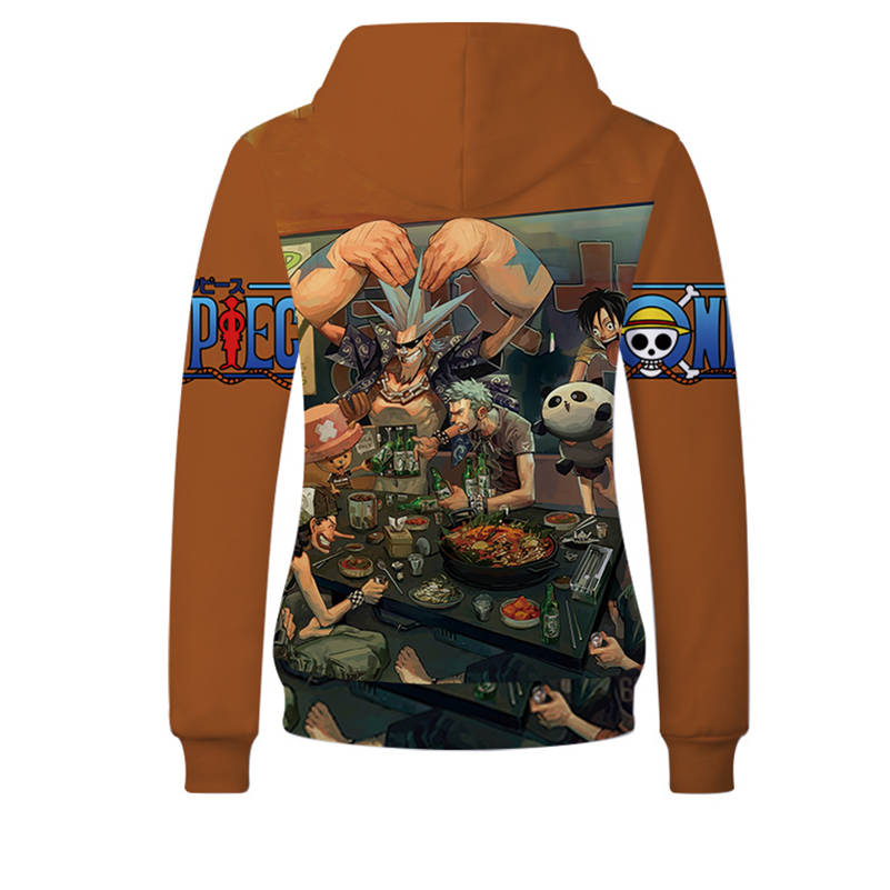 One Piece Hoodies - Franky Unisex Pullover Hooded Sweatshirt
