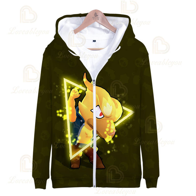 Shooting Game - Crow Leon Spike Zip Up Hoodie