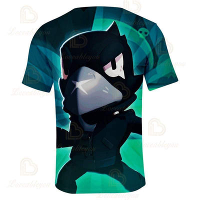 Shooting Game - the Black Crow T-shirt 3D Printed T Shirts Spring Tops Summer Tees