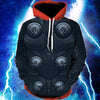 God of Thunder Thor Unisex Pullover Hoodie