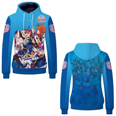Anime Hoodies - Uma Musume Pretty Derby Unisex Pullover Hoodie