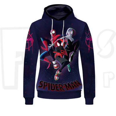 Spider-Hero - Into the Spider Verse Unisex Pullover Hoodie