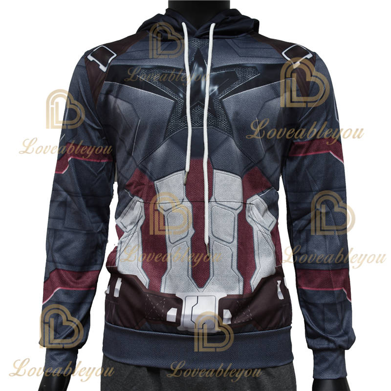Limited Edition - Captain America Unisex Pullover Hoodie